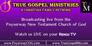 TrueGospelMin/Church Of God Of Prophecy of Spring Valley,New York 10977
