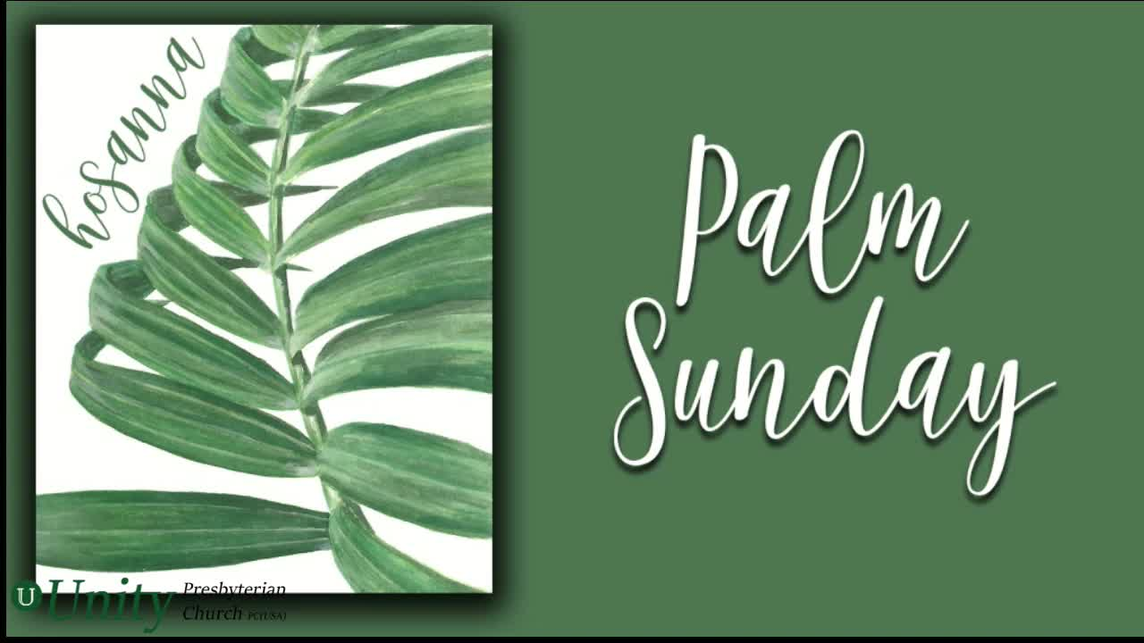Palm Sunday- The Curveball