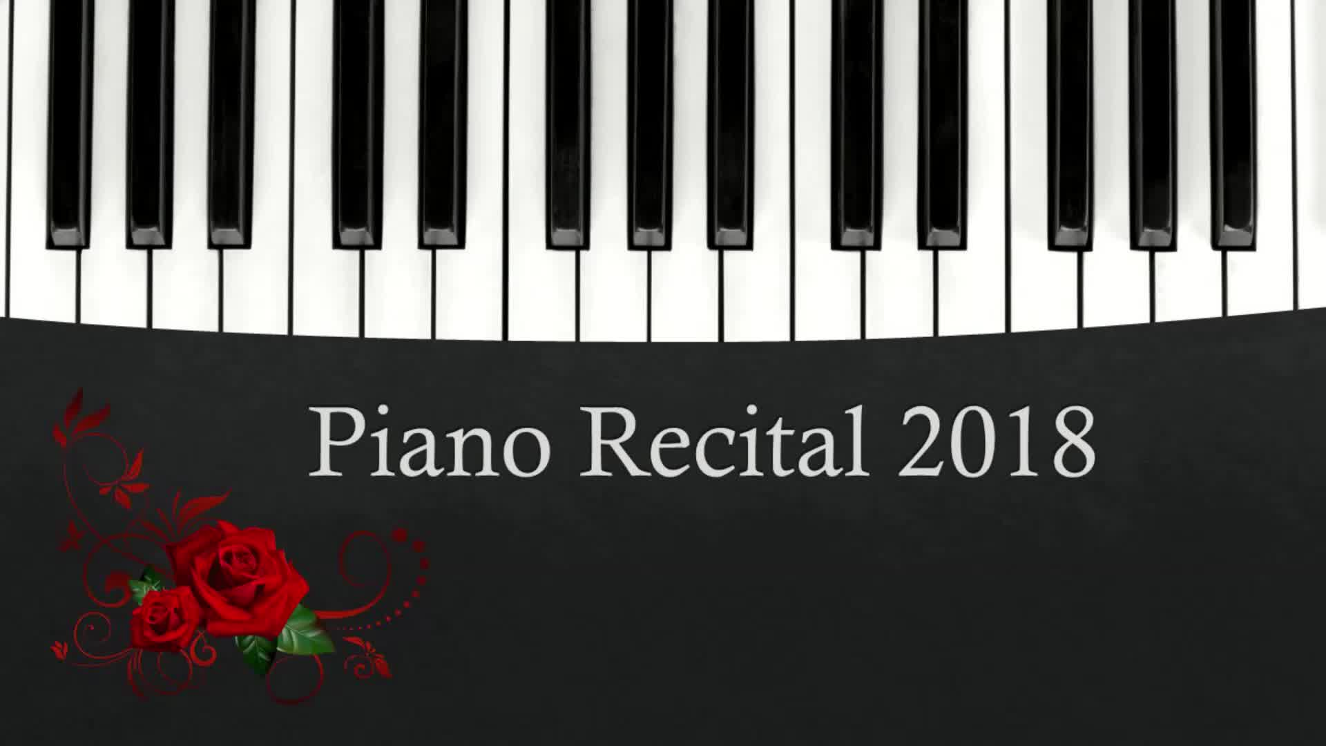 Piano Recital Spring 2018