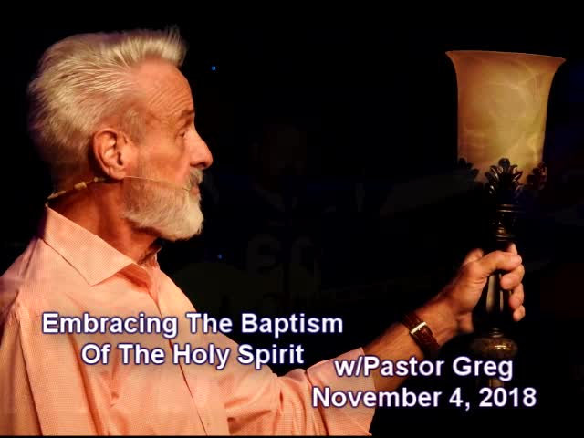 Embracing The Baptism Of The Holy Spirit