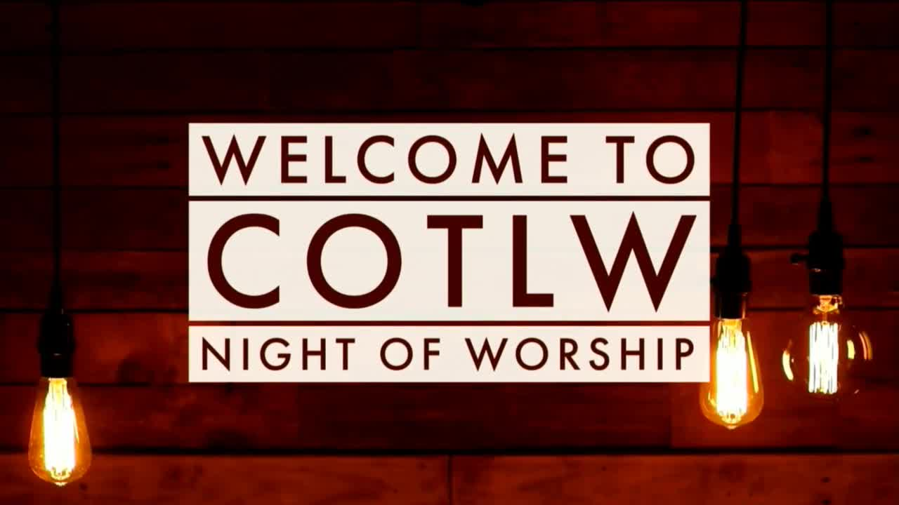 A Night of Thanksgivng and Worship