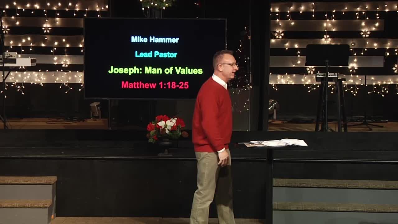 Joseph - Man of Values
