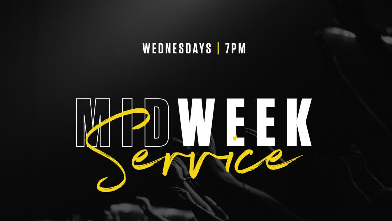 Mid Week | 1/09/2019 | tgp.church