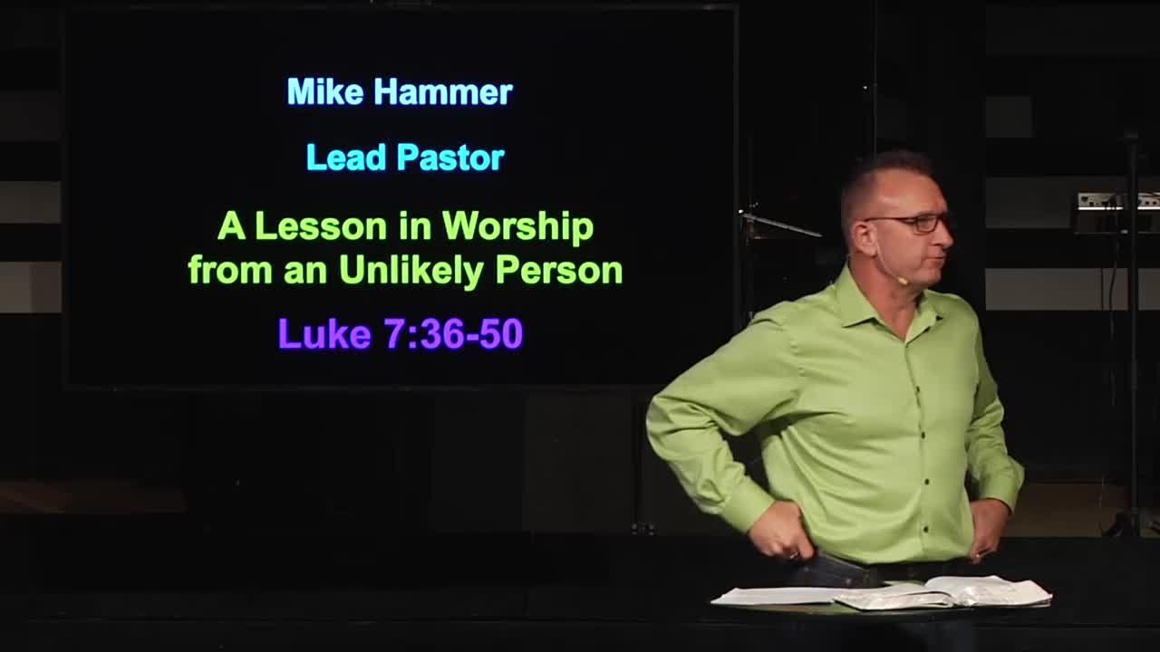 A Lesson in Worship from an Unlikely Source