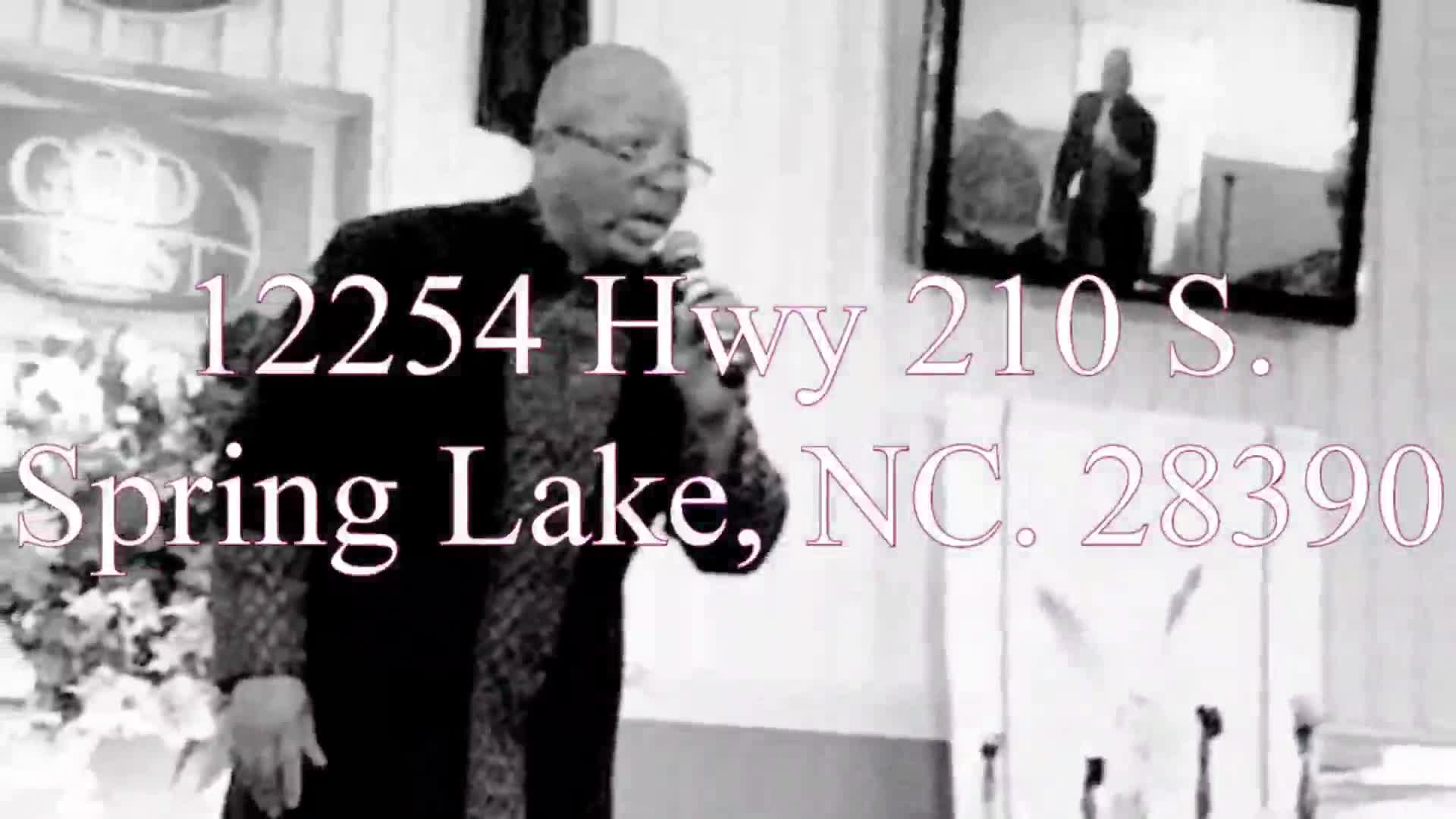 """Pastor Rodney Raines """"Choir to Praise and Wor"""