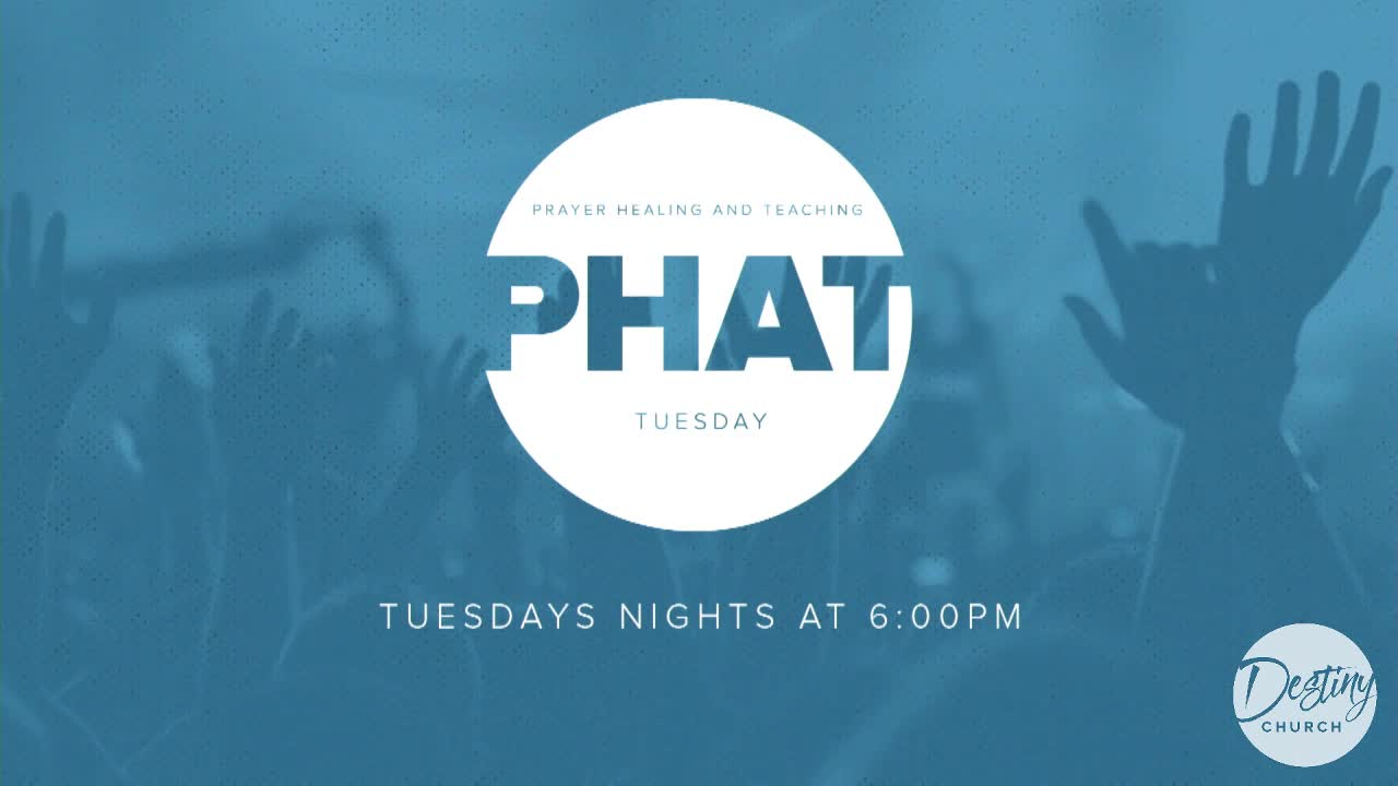 PHAT Tuesday 5.14 6pm