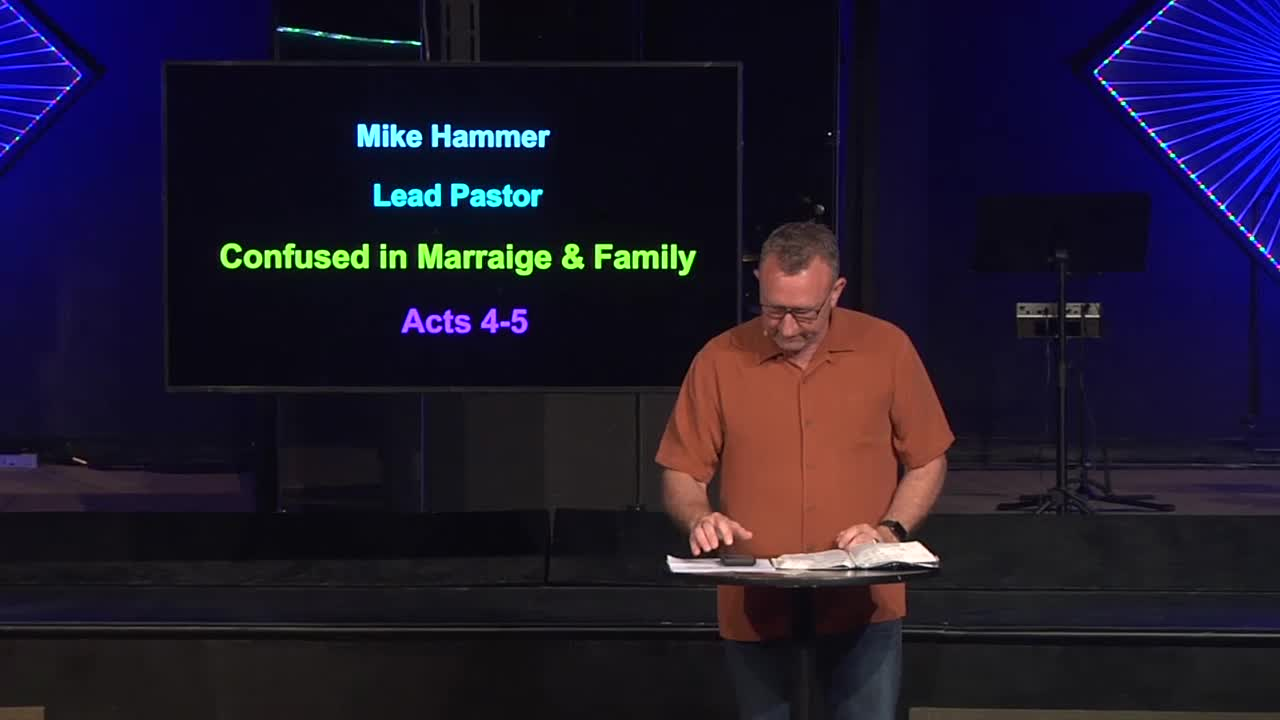 Confused in Marriage and Family