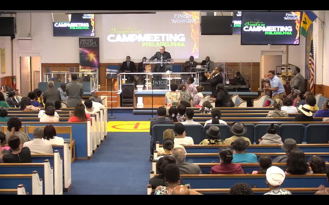 PHILADELPHIA CAMP MEETING 2019 PT 1