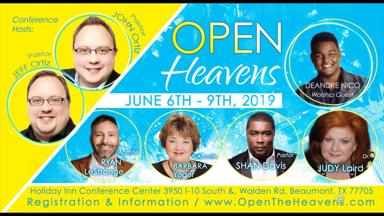 Open Heavens Conference | 6/6/2019