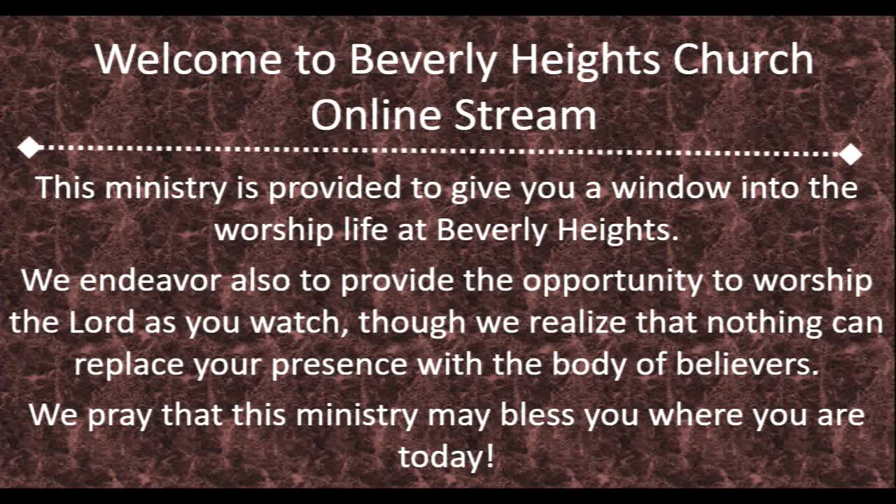 August 4 Beverly Heights Together