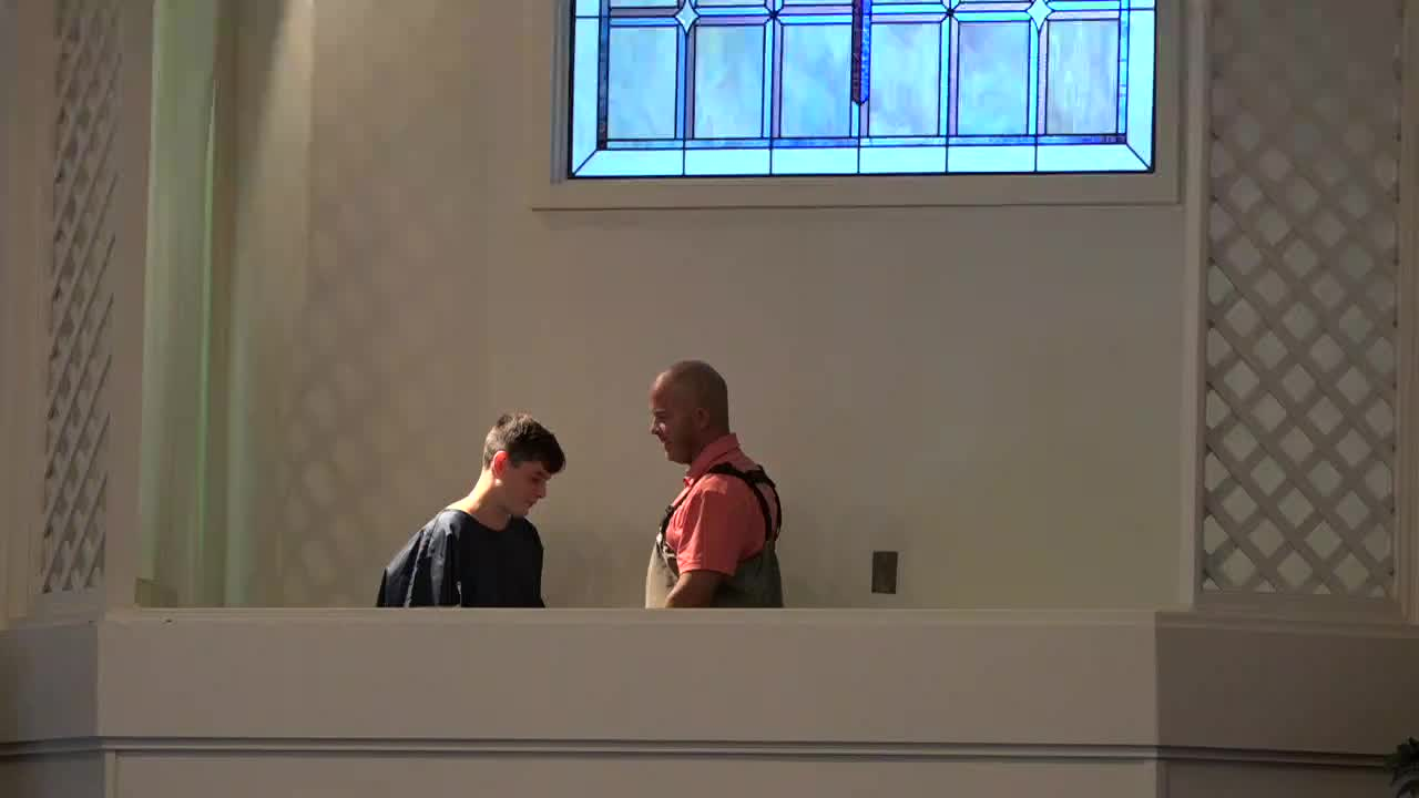 9-8-19 AM Baptism
