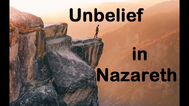 Unbelief in Nazareth