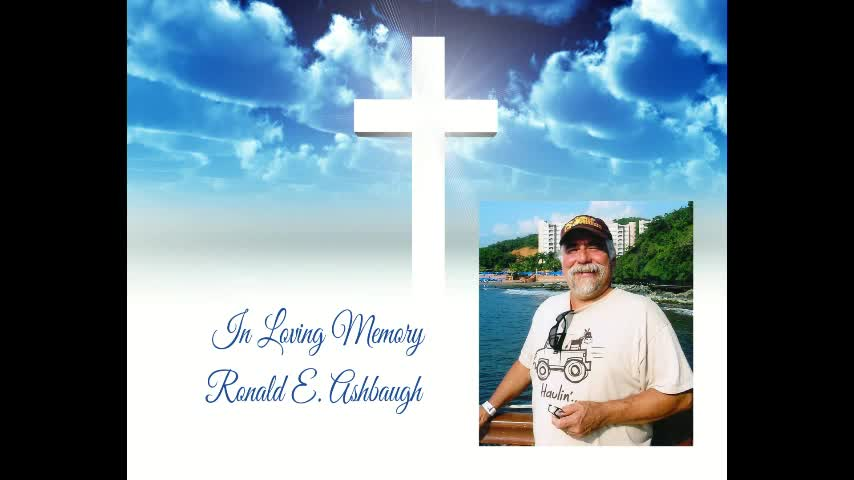Ron Ashbaughs Memorial Service