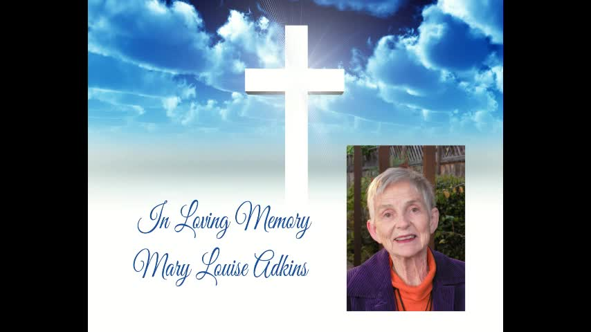 Mary Louise Adkins Memorial Service