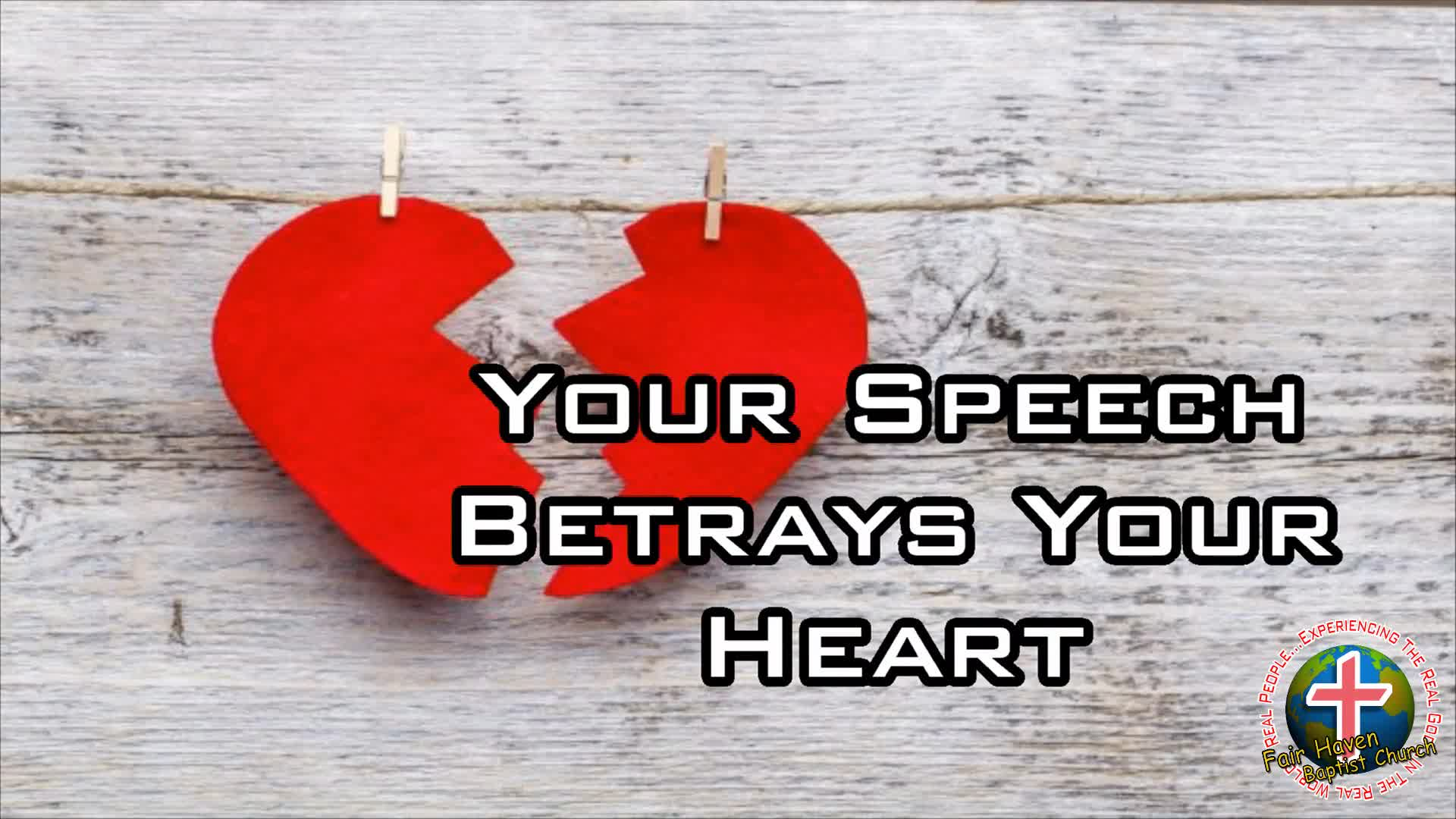 Your Speech Betrays Your Heart