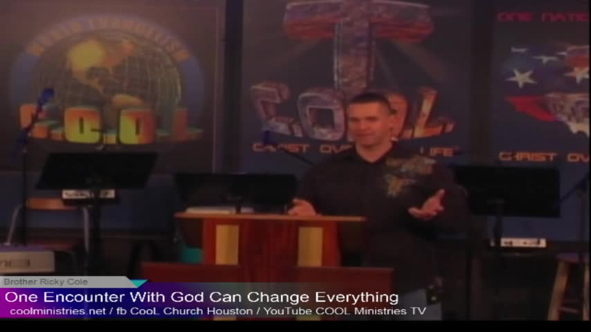 11132019 One Encounter with God can Change