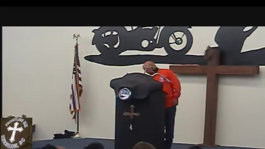 Revival service 1 Frontline Biker Church Serv
