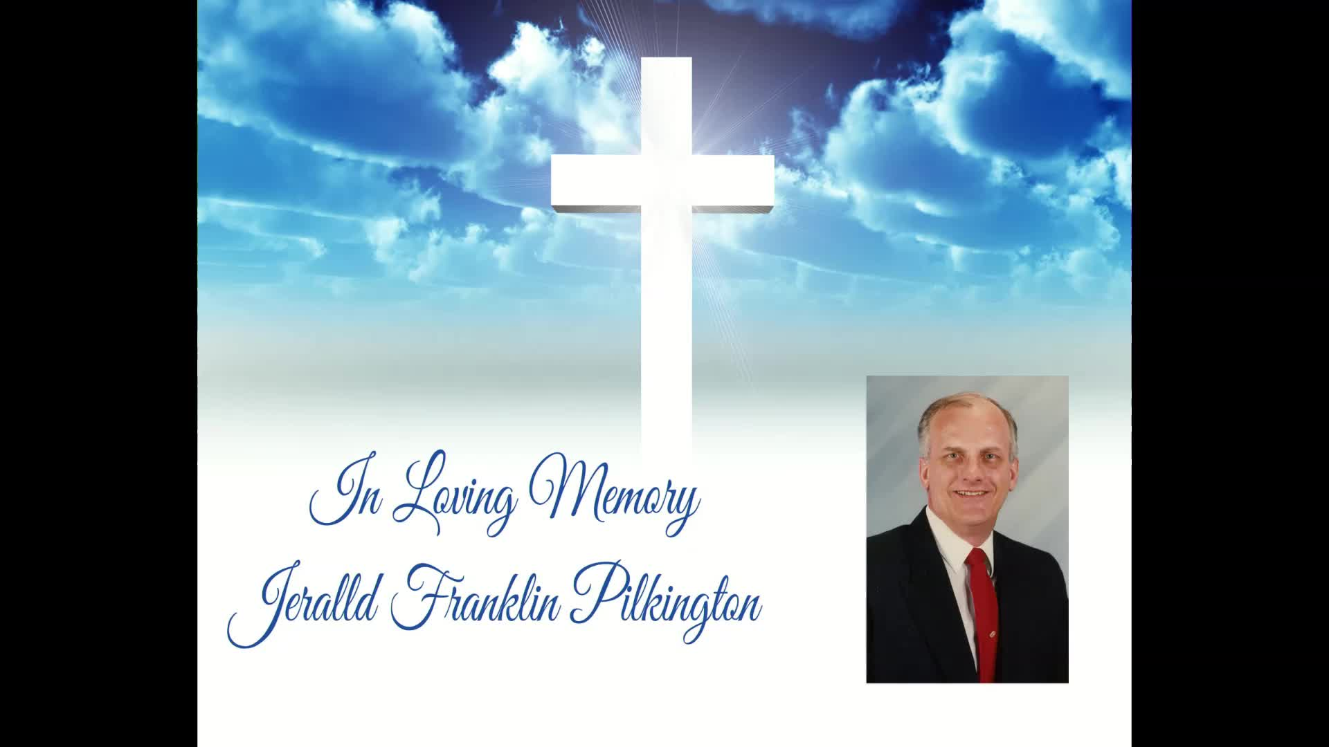 Jerry Pilkingtons Memorial Service