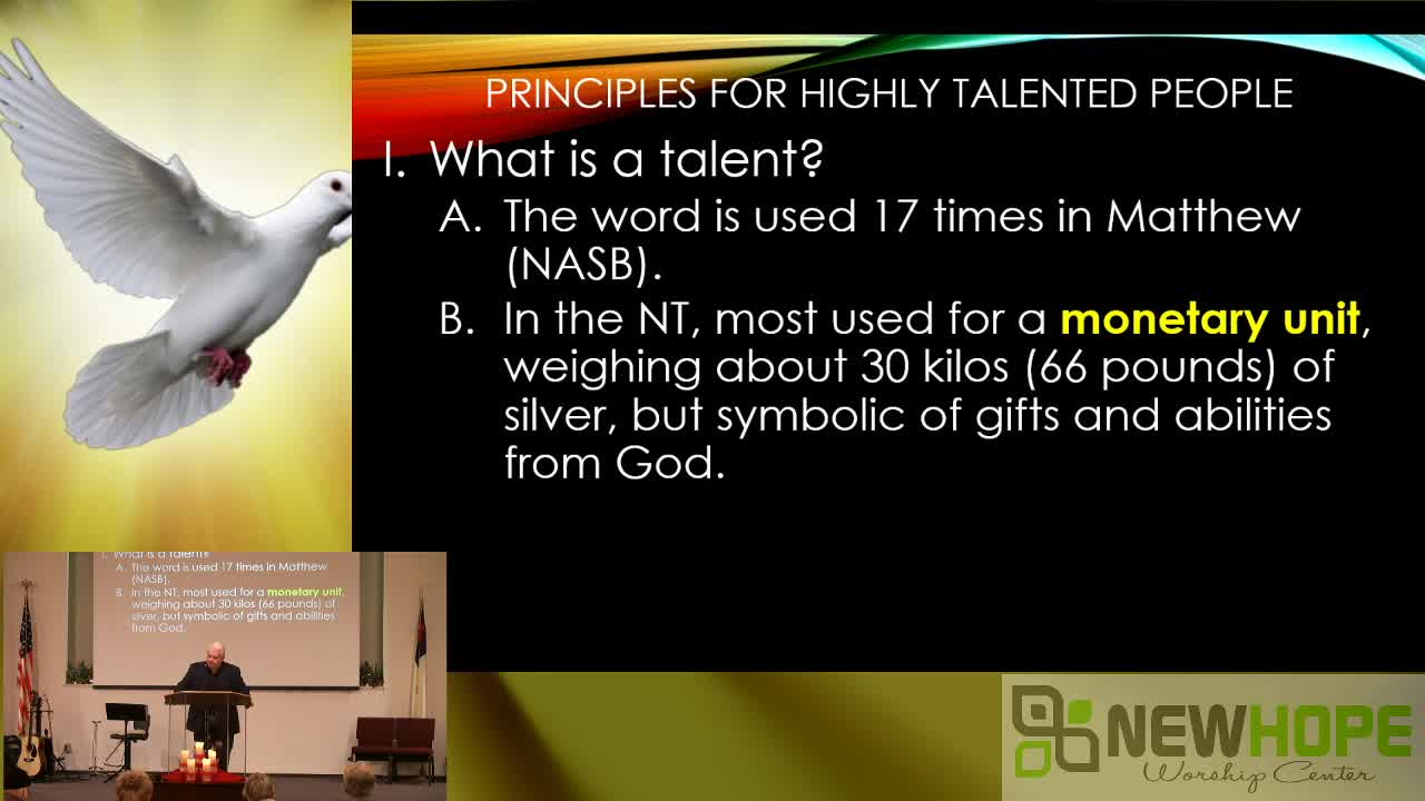 Godly Principles For Highly Talented People