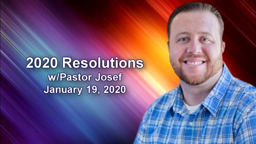 2020 Resolutions, 2