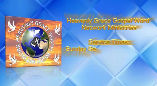 HGGWN Ministries Sunday Service 1192020