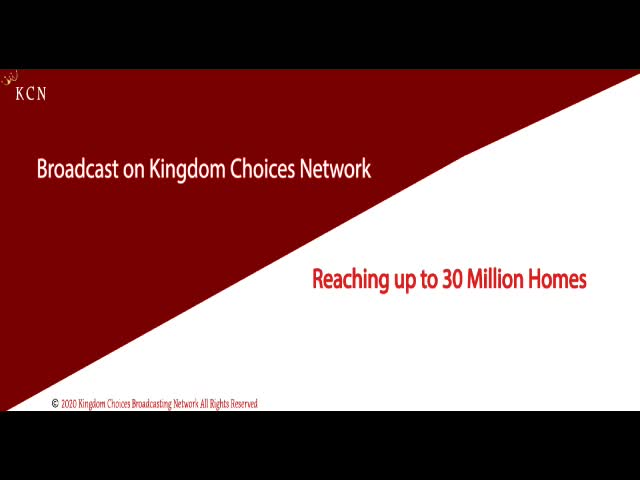 KCBN  Kingdom Choices Broadcasting Network