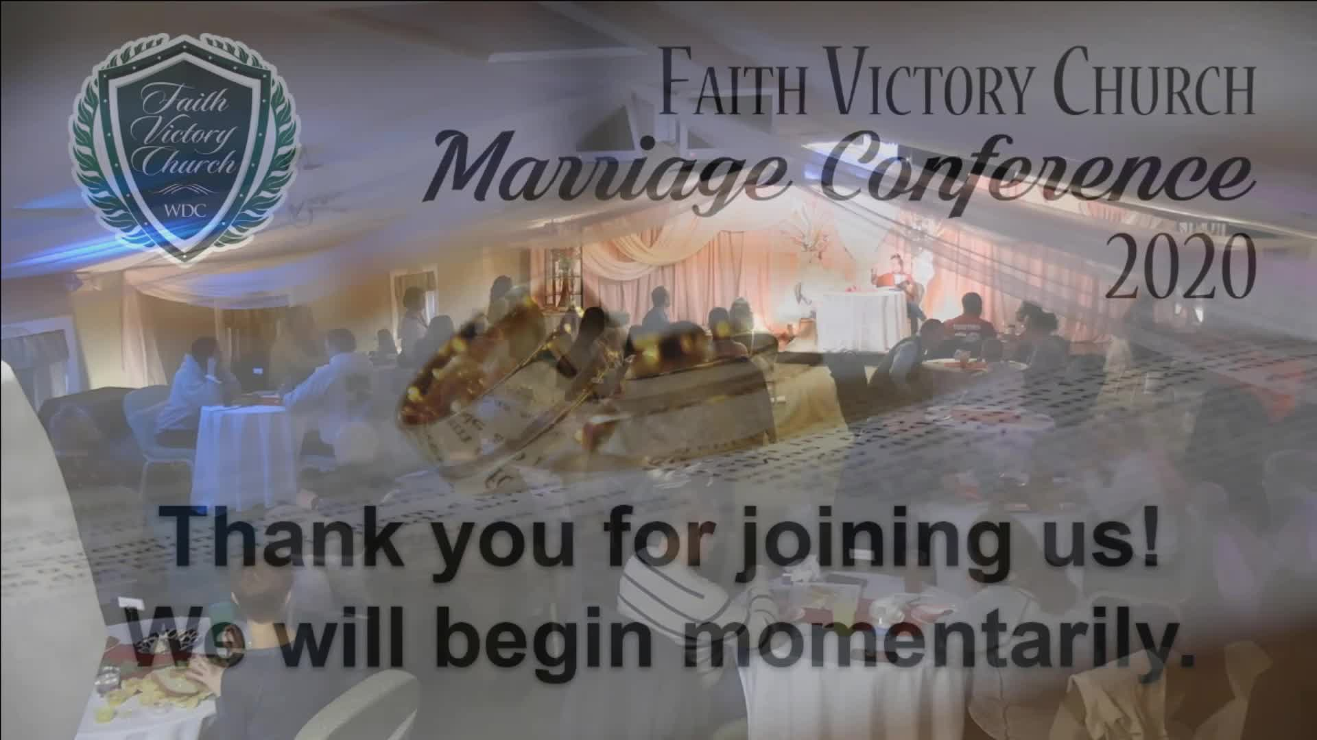 Marriage Conference Pt3 Actions