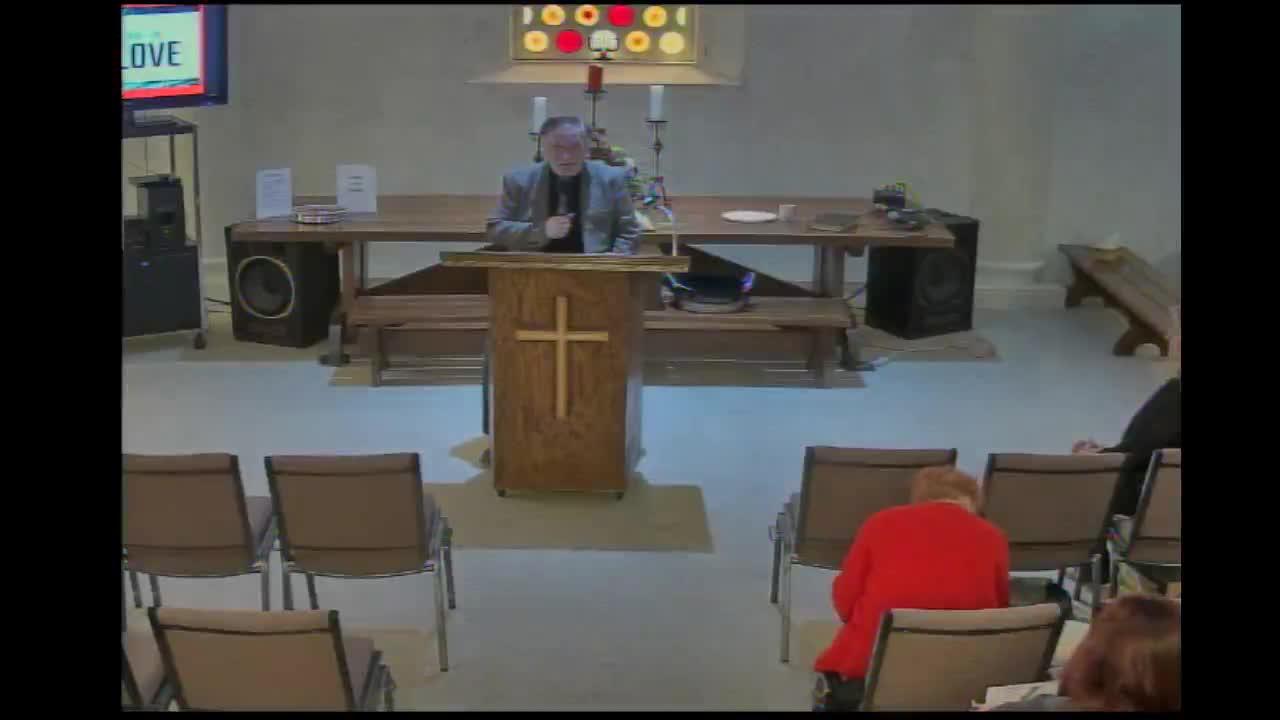 Rev. Ron Lambright 2/16/2020
