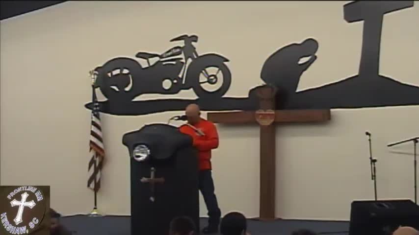 Frontline Biker Church Service 03 04 2020 190