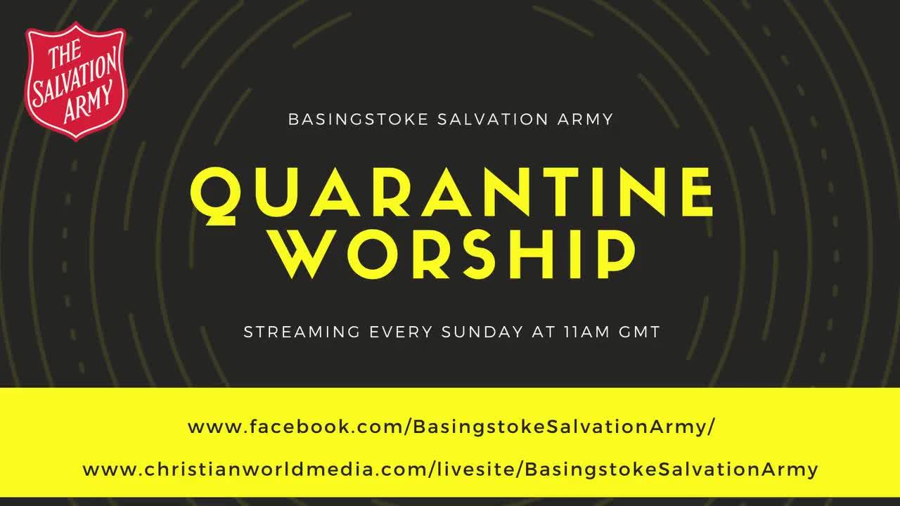 Quarantine Worship - 22/03/2020