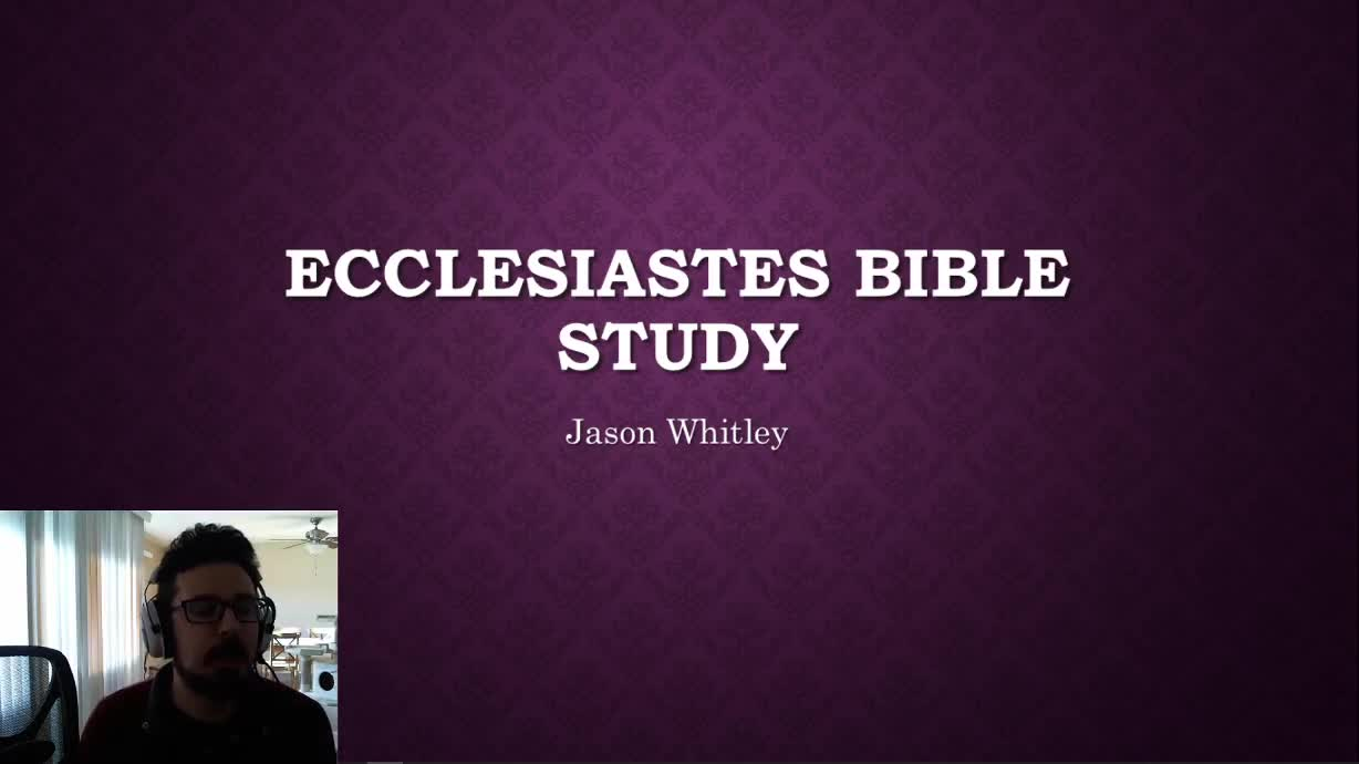 Wed night Bible Study