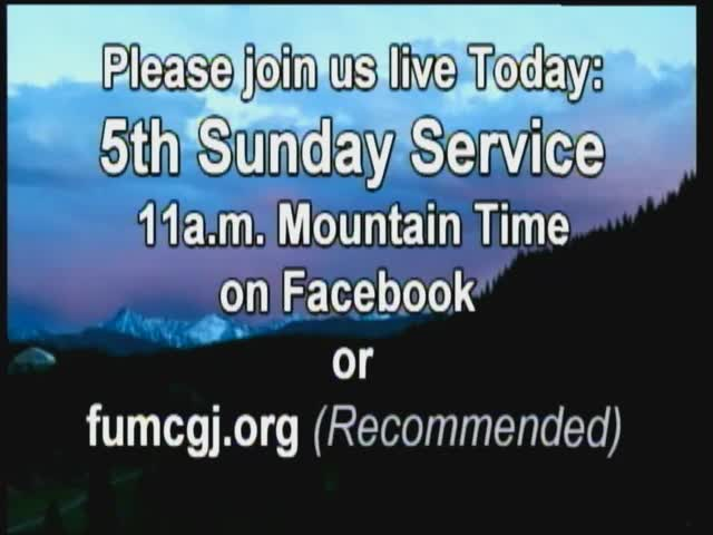 5th Sunday Worship 3292020 111204 AM