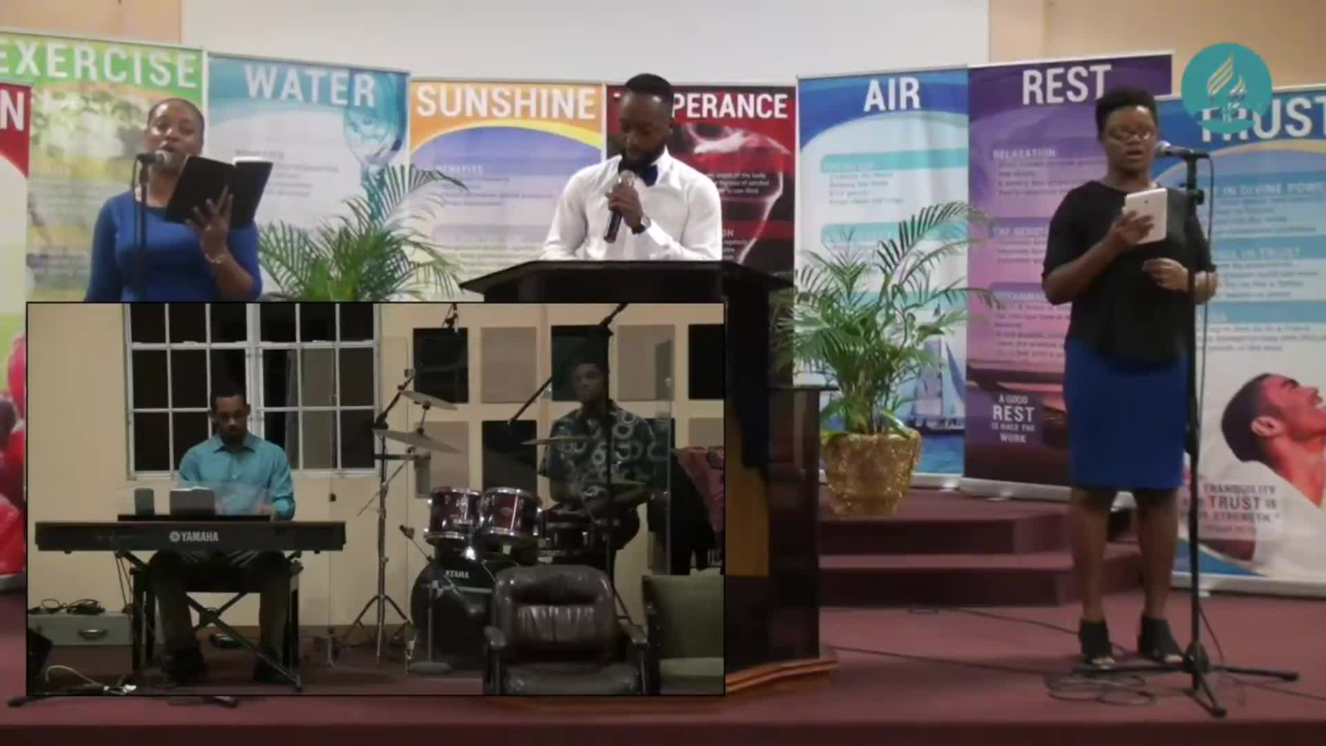 St Lucia mission Preaching Expo