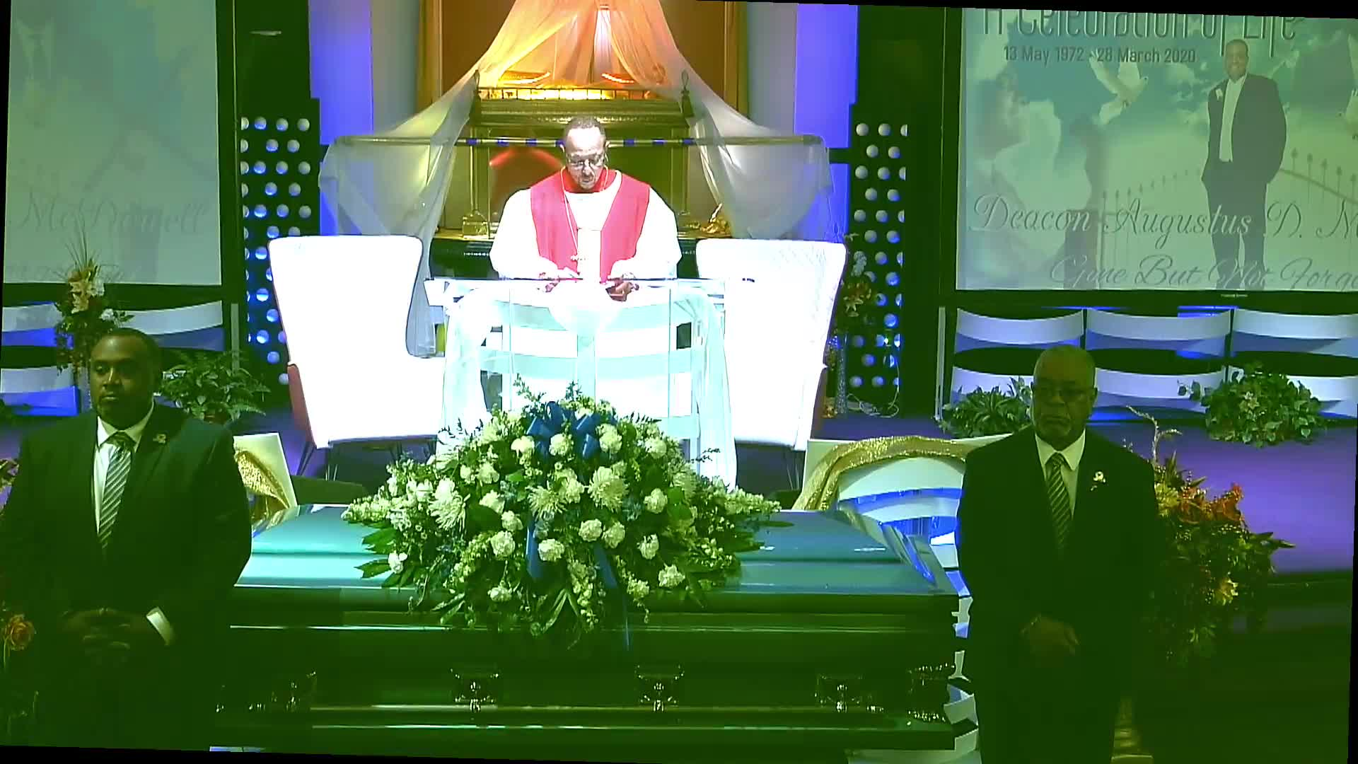 Homegoing Service_Deacon Augustus McDowell