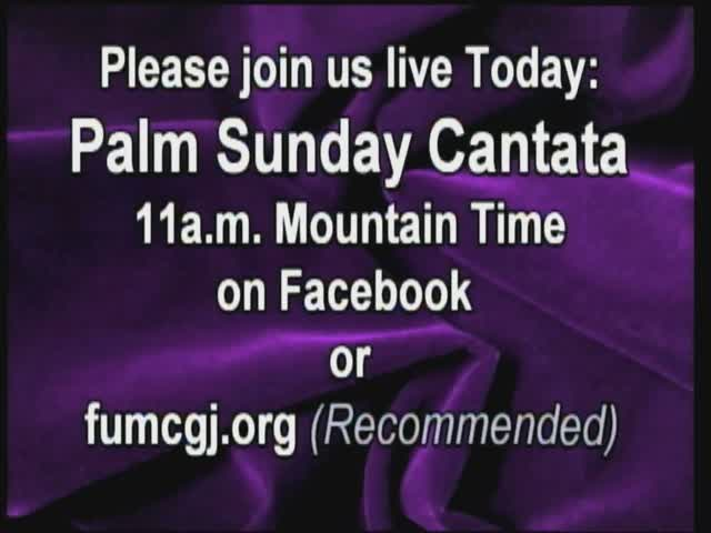 Palm Sunday Cantata 452020 112750 AM