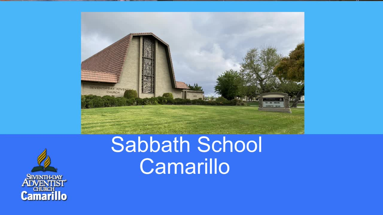 Sabbath School 522020 103230 AM