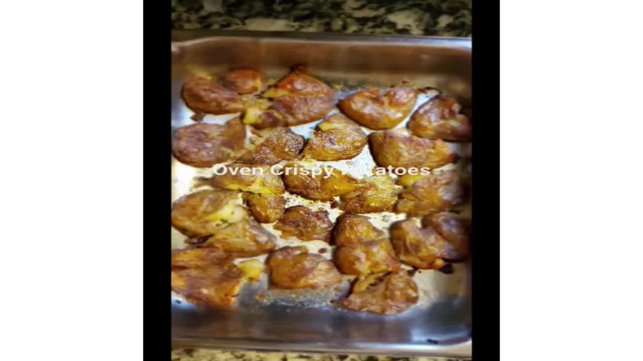 Oven Crispy Potatoes
