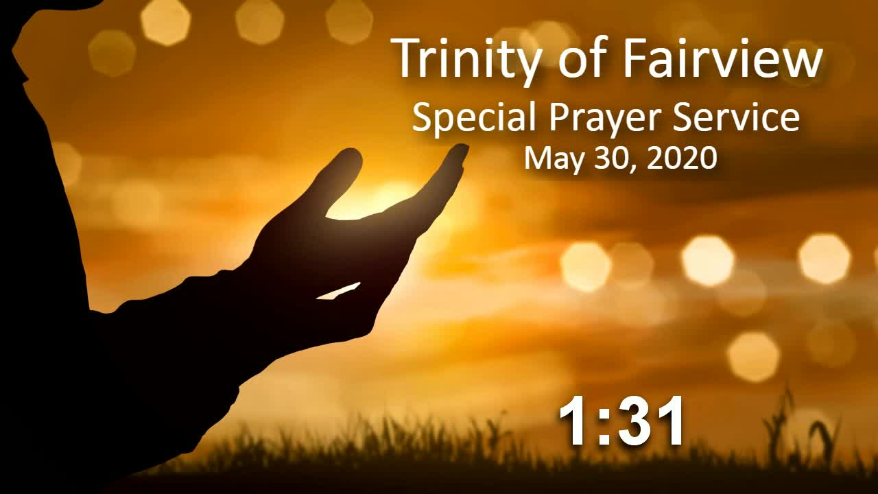 Special Prayer Service 7PM