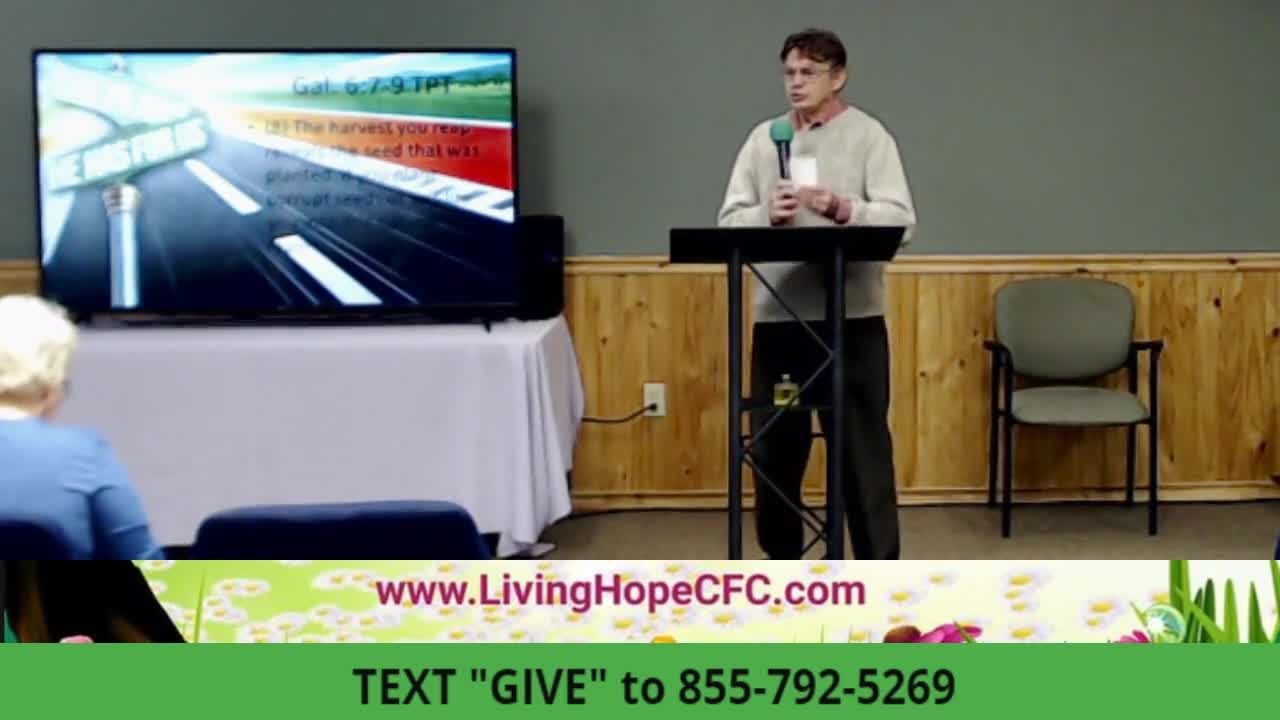 Living Hope Church  PENTECOST POWER