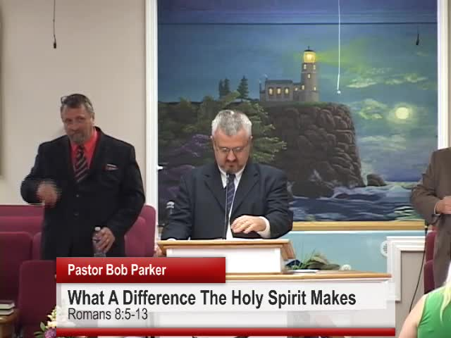 What A Difference The Holy Spirit Makes