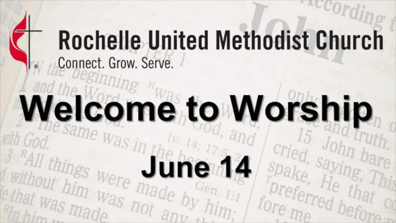 Sunday Worship June 14 2020