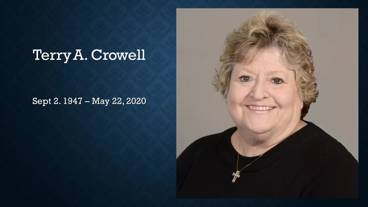 Terry Crowell Memorial Service
