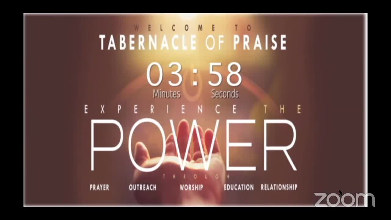 Tabernacle of Praise Divine Worship Service