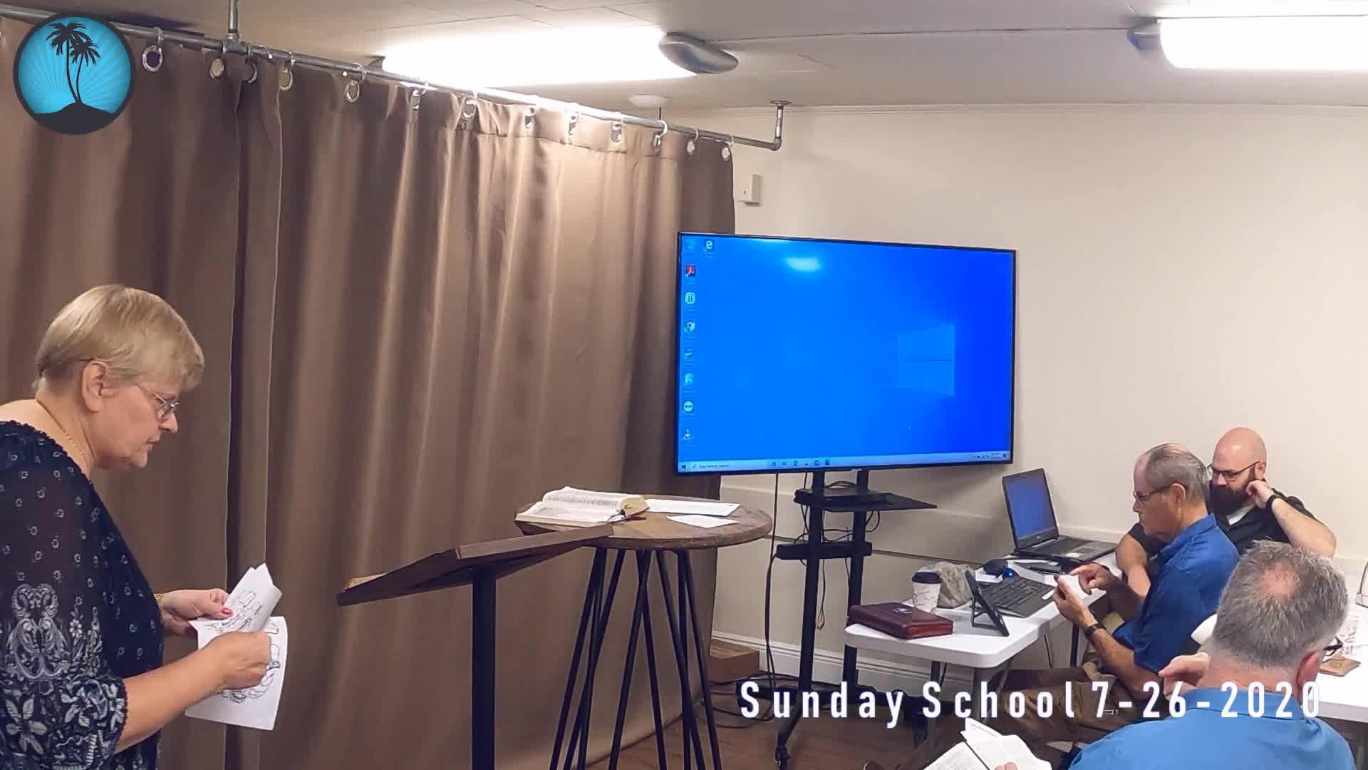Sunday School 1st Service