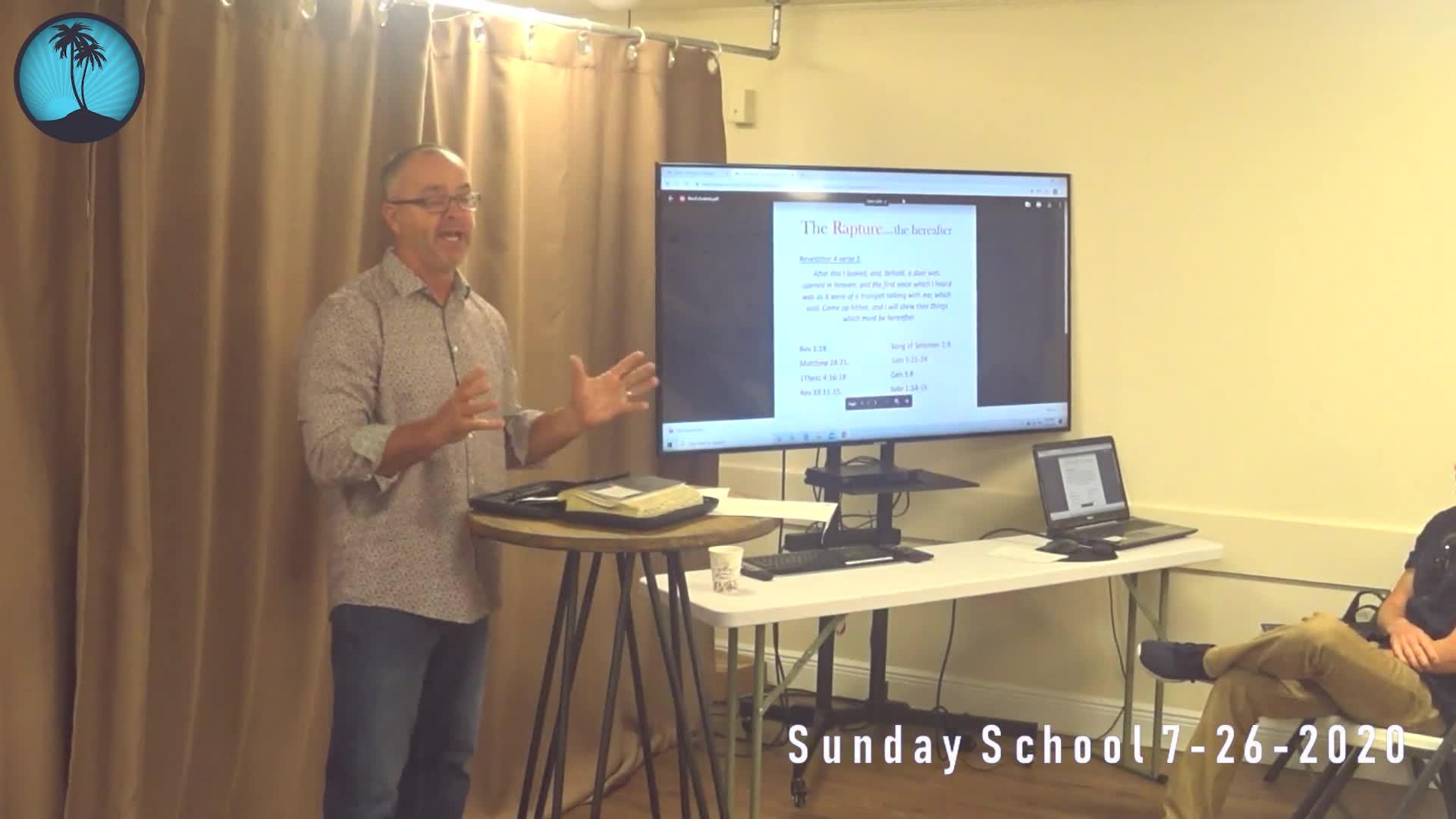 Sunday School 2nd Service
