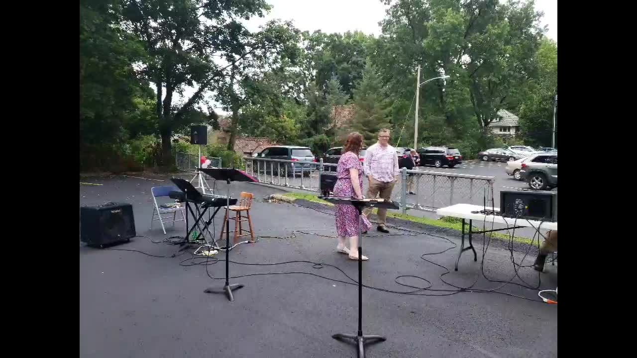 August 2  Outdoor Worship