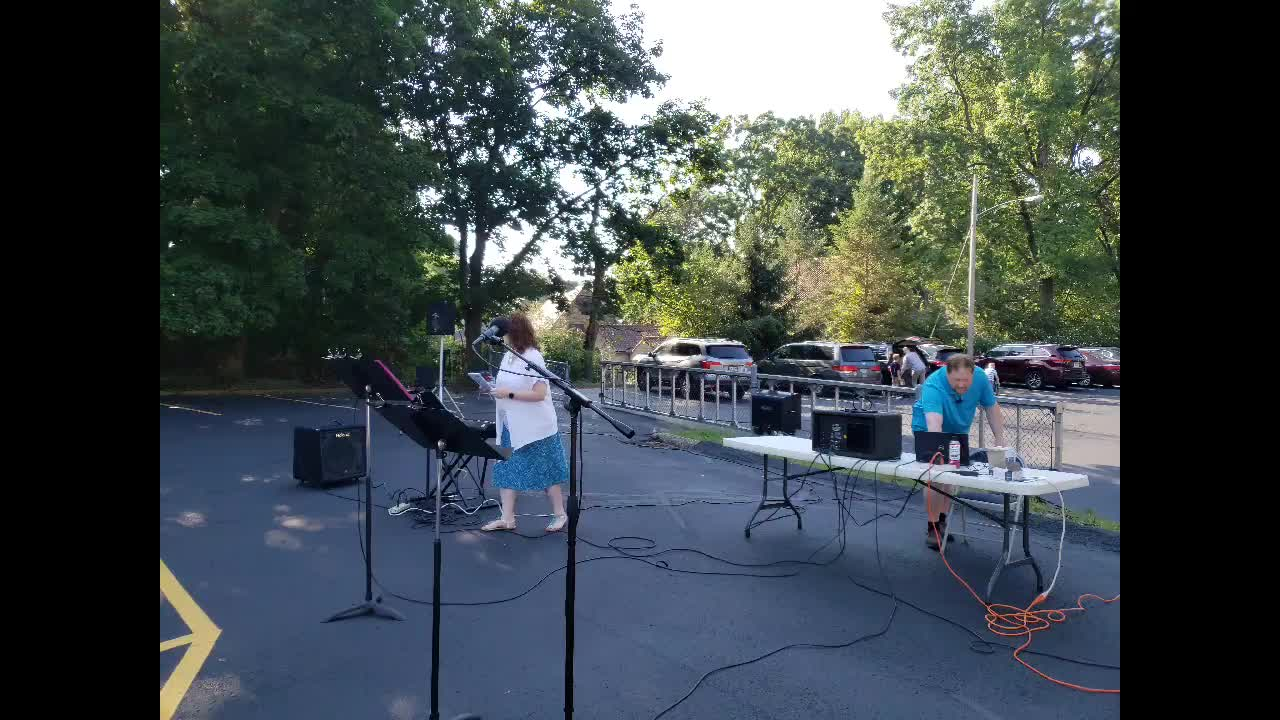 August 9 Outdoor Worship