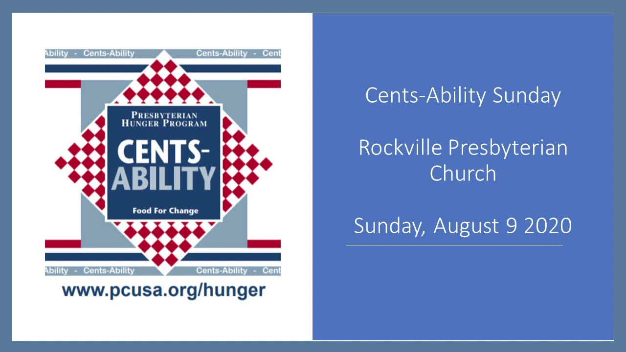 Cents-Ability Presbyterian Hunger Program