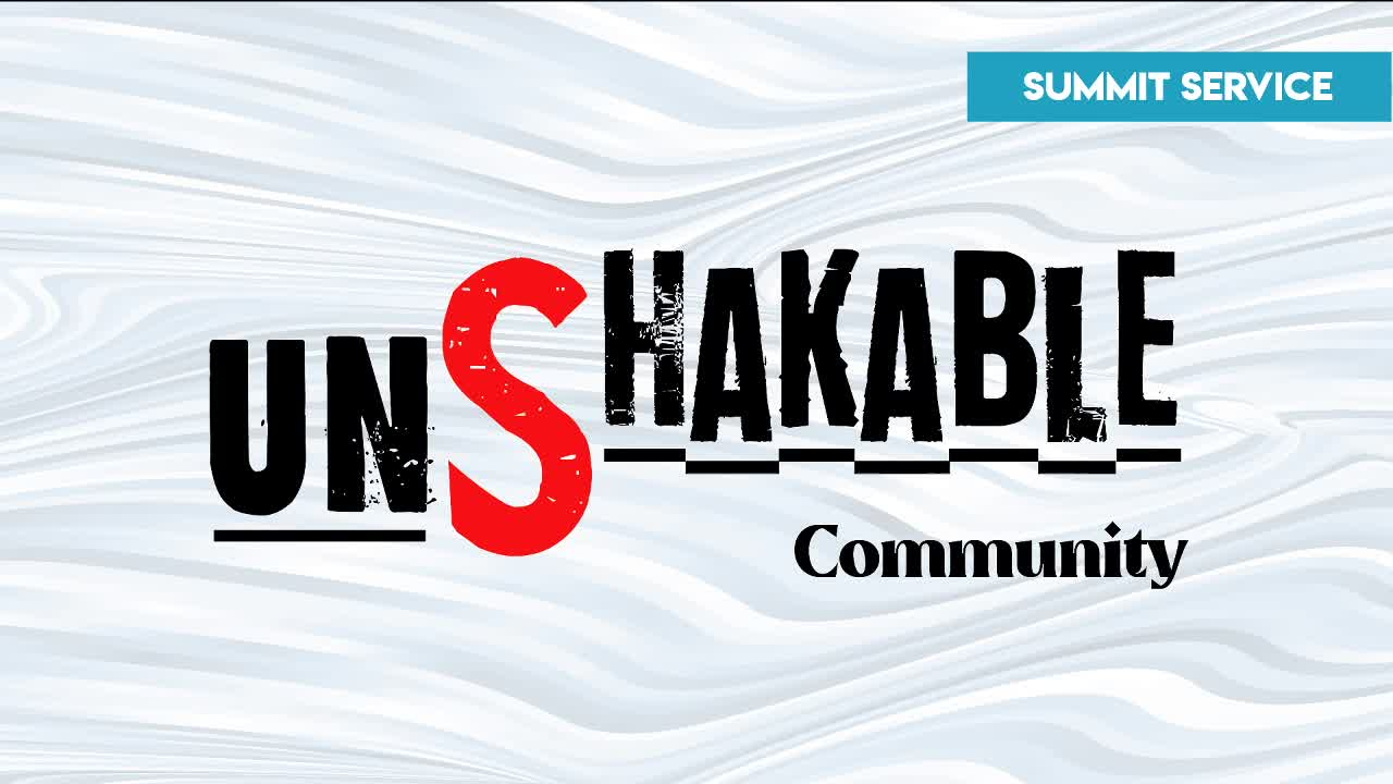 Unshakable : Community