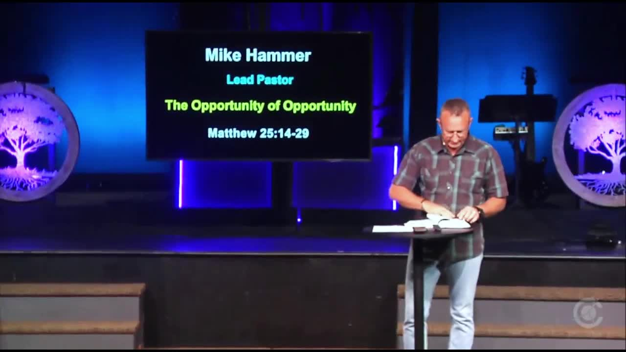 The Opportunity of Opportunity